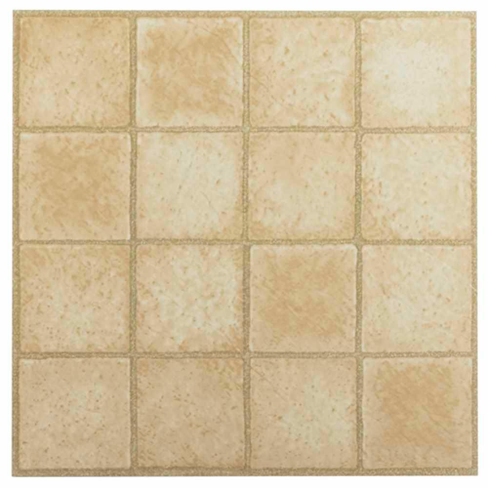 Achim tivoli sandstone 12 in x 12 in peel and stick square achim tivoli sandstone 12 in x 12 in peel and stick square pattern vinyl dailygadgetfo Choice Image