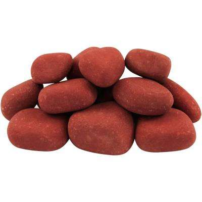 12.0 cu. ft. 1 in. to 3 in. 900 lbs. India Rose Pebbles