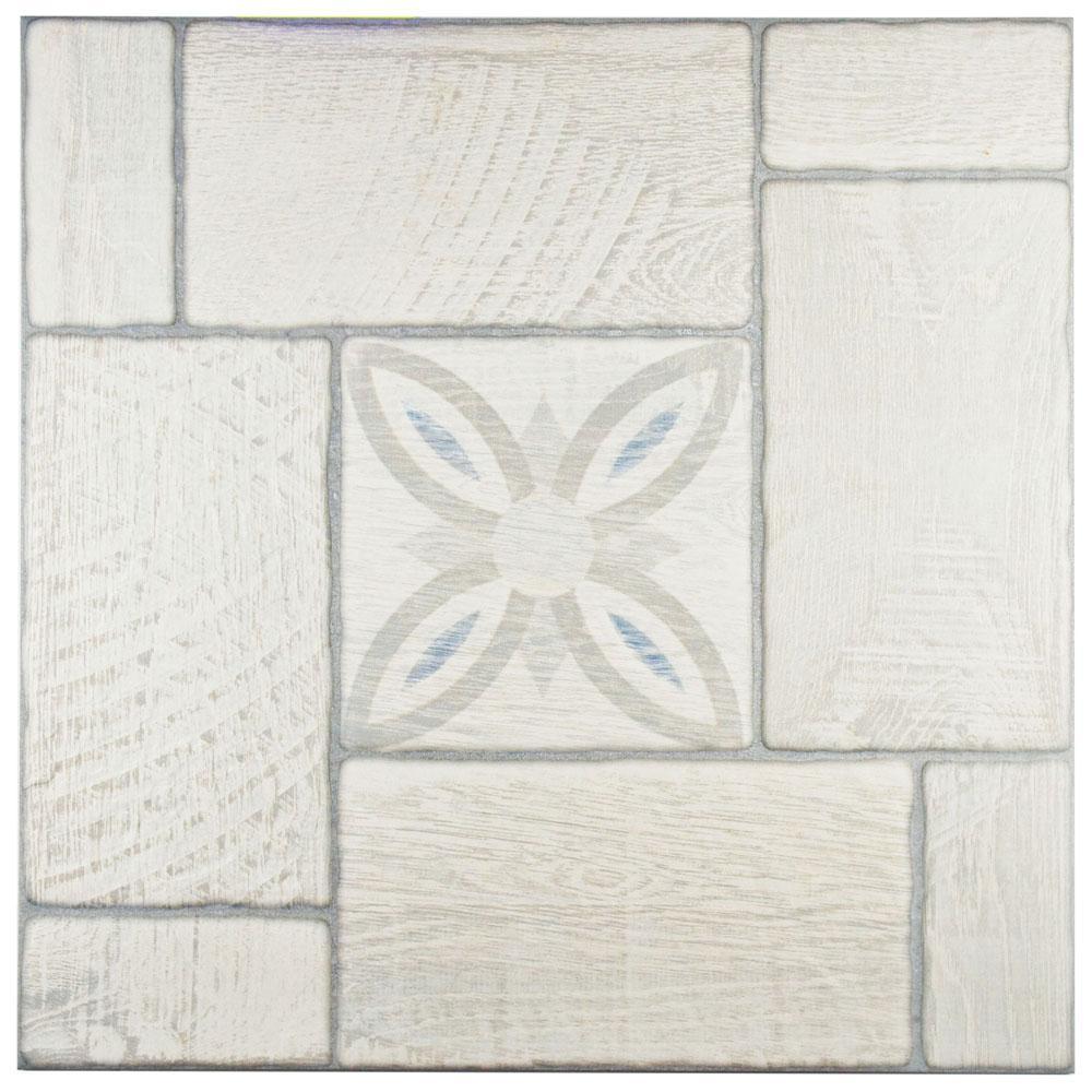 Okaido Nordico Decor 19-3/4 in. x 19-3/4 in. Ceramic Floor and Wall Tile (16.5 sq. ft. / case)