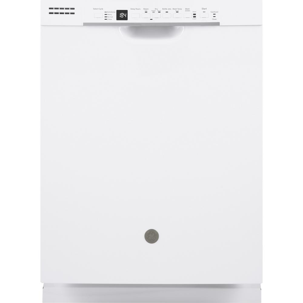 ge 24 in front control built in tall tub dishwasher in. Black Bedroom Furniture Sets. Home Design Ideas
