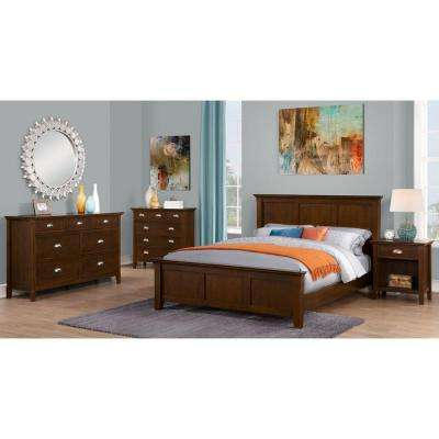 Acadian 6-Drawer Tobacco Brown Chest