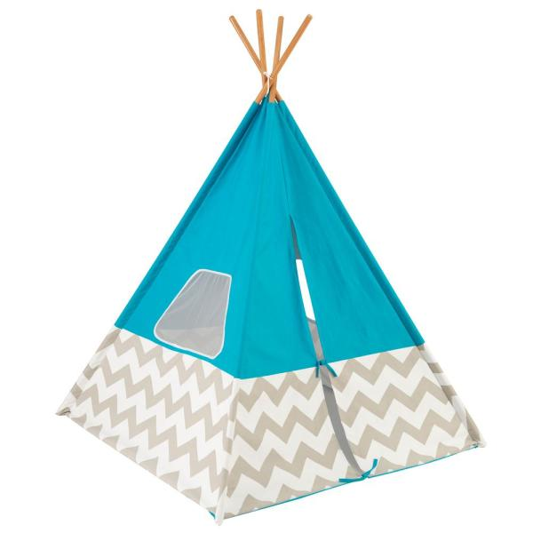 Deluxe Play Teepee in Turquoise