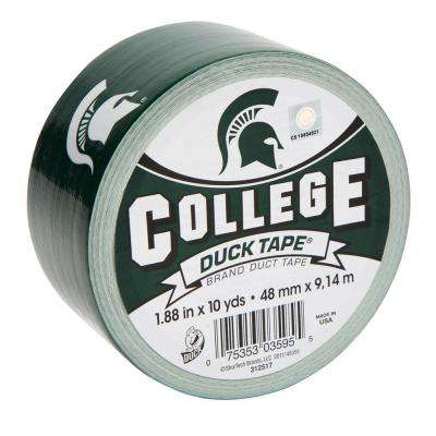 College 1-7/8 in. x 10 yds. Michigan State University Duct Tape