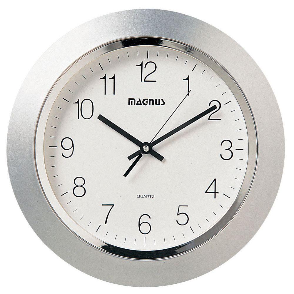 Filament design catherine 14 in x 14 in silver quartz wall clock filament design catherine 14 in x 14 in silver quartz wall clock amipublicfo Choice Image