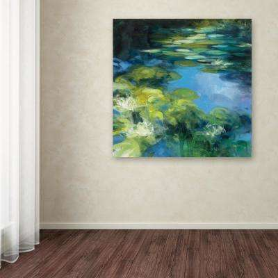 """18 in. x 18 in. """"Water Lilies II"""" by Julia Purinton Printed Canvas Wall Art"""