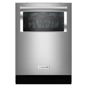KitchenAid Top Control Dishwasher with Window in Stainless Steel with Stainless... by KitchenAid