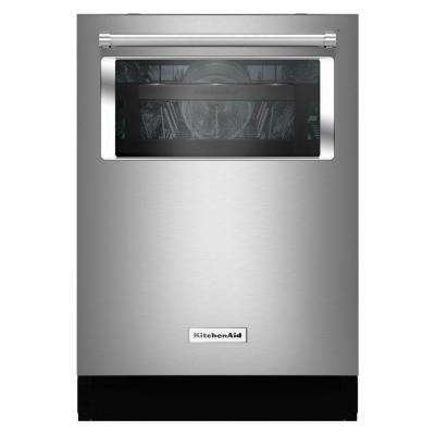 Top Control Tall Tub Dishwasher with Window and Lighted Interior in Stainless Steel with Stainless Steel Tub, 44 dBA