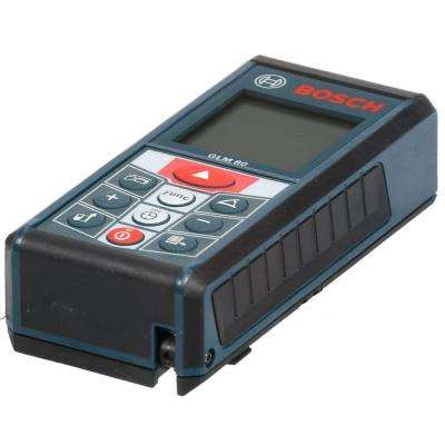 265 ft. Lithium Ion Laser Measure with Inclinometer with Charger and Carrying Case