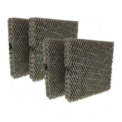 Replacement for Aprilaire 110, 220, 500, 550, 558 Water Panel 10 Humidifier Filter (4-Pack)
