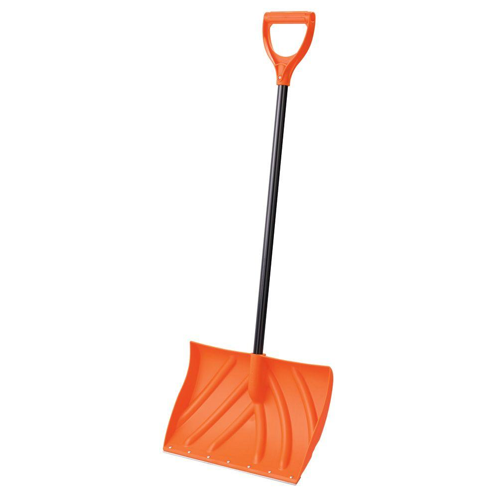 Orbit 20 in. Snow Shovel with Metal Edge