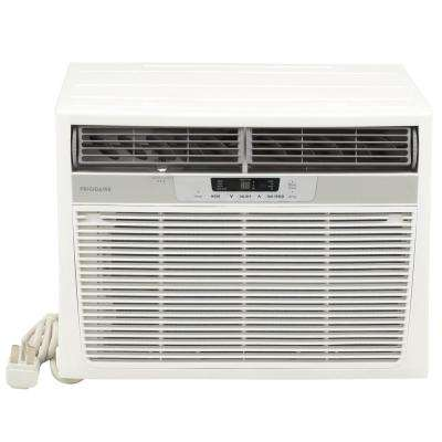 18,500 BTU Window Air Conditioner with Heat and Remote