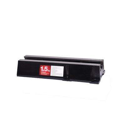 Bed Extension Lathe Accessory in Black