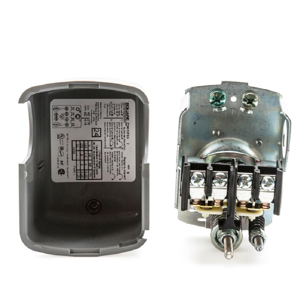 Square D Pressure Switch Wiring Catalog No Fsg2j24cp Electrical Pumptrol Diagram 40 60 Psi Water 47569072178 Ebay