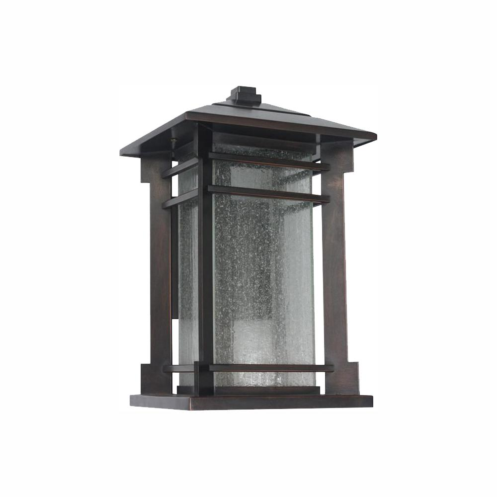 Home Decorators Collection Led Small Exterior Wall Light: Home Decorators Collection 1-Light Oil Rubbed Bronze