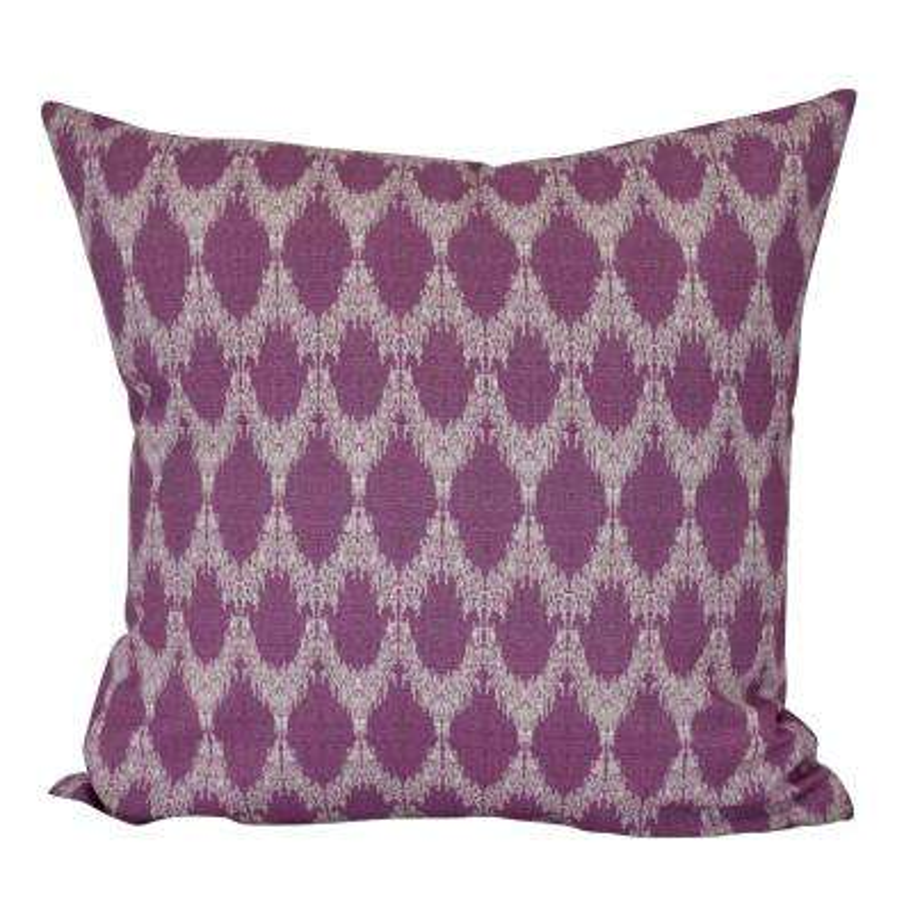 18 in. Peace 2 Geometric Print Decorative Pillow