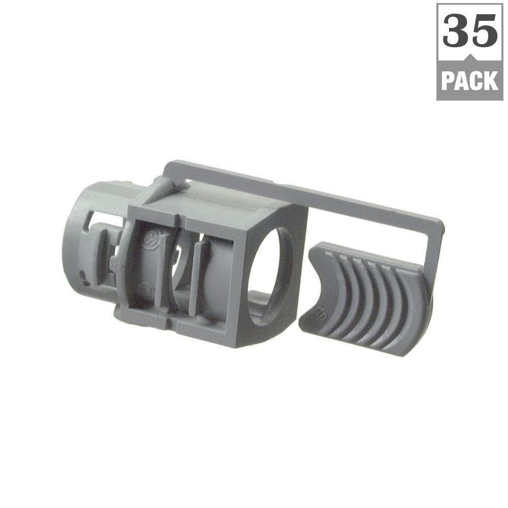 Halex ½ in. Non-Metallic (NM) Cable Connectors (35-Pack)