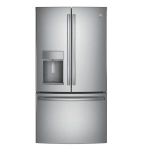 Click here to buy GE Profile 36 inch W 27.8 cu. ft. French Door Refrigerator with Hands Free Autofill in Stainless Steel, ENERGY STAR by GE.