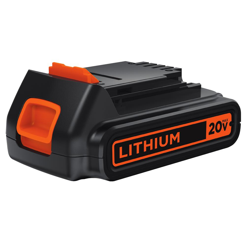 20-Volt Max Lithium-Ion Battery Pack 1.5Ah