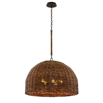 Huxley 5-Light Tidepool Bronze LED Pendant