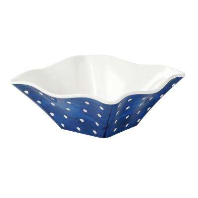 Pallini 3 in. 4-Piece Blue Chip/Dip Bowl Set