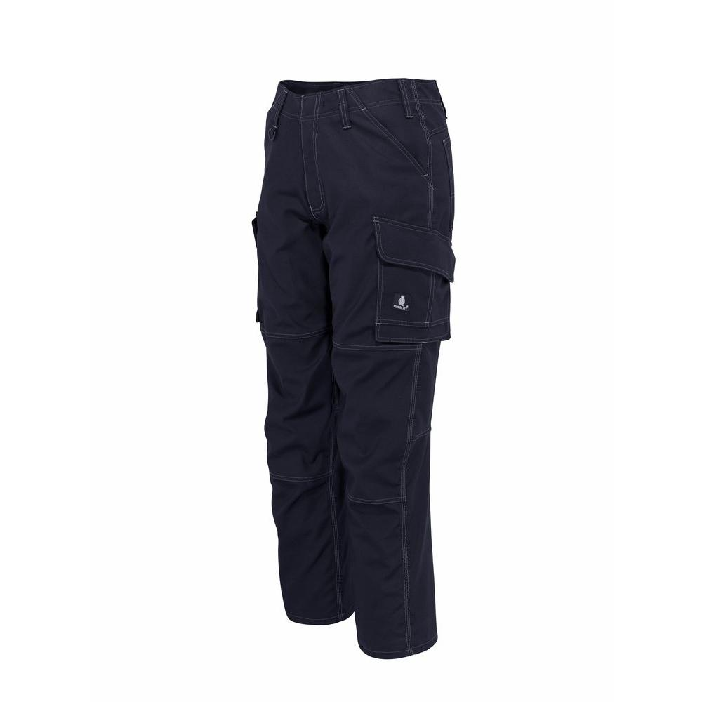 MASCOT Men's 40 in. x 32 in. Dark Navy 65% Polyester/35% Cotton New Haven Service Pant