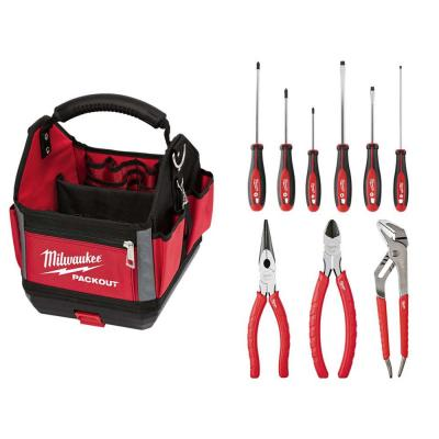 PACKOUT Tote With Hand Tool Set (10-Piece )