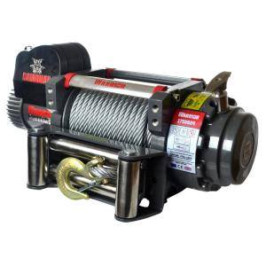 Detail K2 Samurai Series 17,500 lb. Capacity 12-Volt Electric Winch with 85 ft. Steel Cable by Detail K2