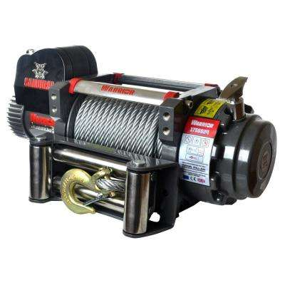 Samurai Series 17,500 lb. Capacity 12-Volt Electric Winch with 85 ft. Steel Cable