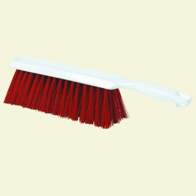 13 in. Polyester Red Bench and Counter Brush (Case of 12)