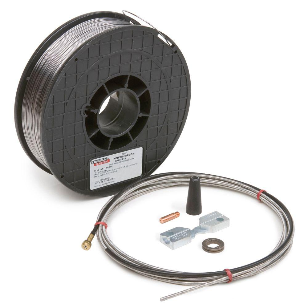 Lincoln Electric Innershield 0.045 in. Welding Kit-K2528-1 - The ...