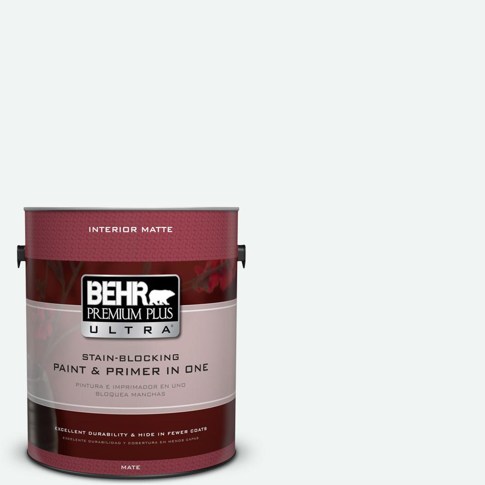 BEHR Premium Plus Ultra 1 gal. #T13-14 Heavy Sugar Flat/Matte Interior Paint