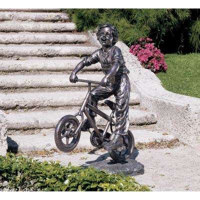 45.5 in. H Out for a Ride Garden Sculpture