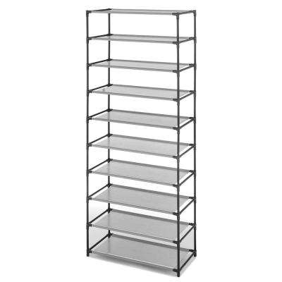 9.50 in. x 23.50 in. Metal 10-Tier Shelves