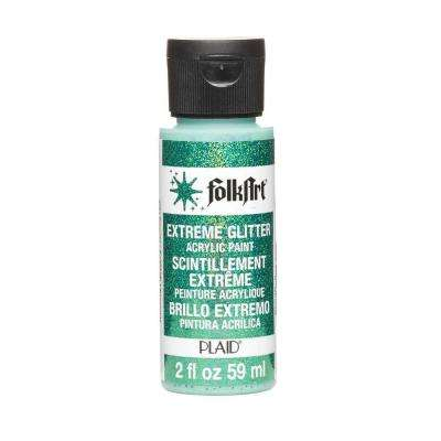 2-oz. Emerald Extreme Glitter Craft Paint