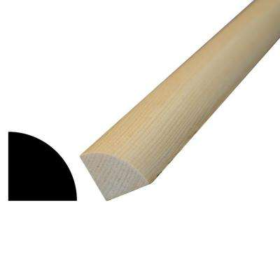 WM 103 1-1/16 in. x 1-1/16 in. x 96 in. Pine Quarter Round Moulding