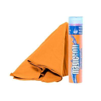 8 in. x 30 in. Cooling Cloth in Blaze Orange
