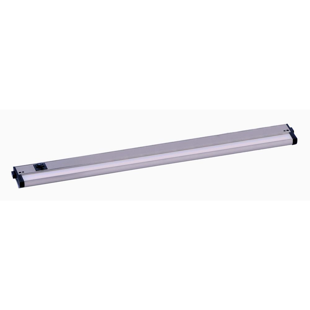 Maxim Lighting Countermax Basic 30 In Long Led Satin Nickel Under Cabinet Light
