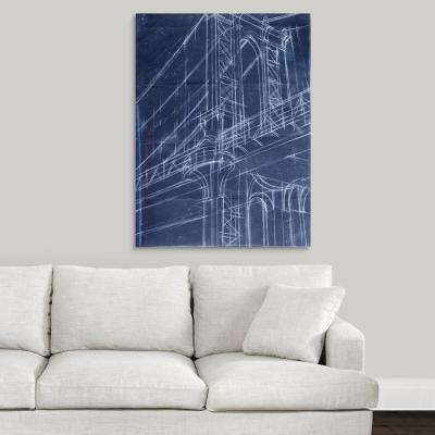 Painting medium 20 40 in architecture canvas art wall art bridge malvernweather