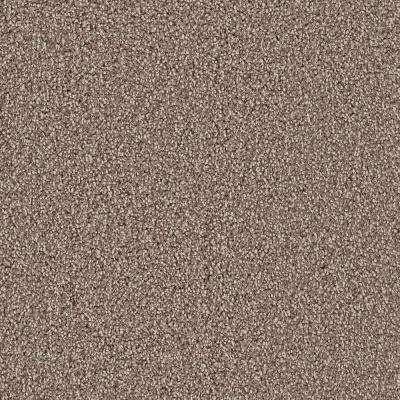 Carpet Sample - Downshift II - Color Brantley Texture 8 in. x 8 in.