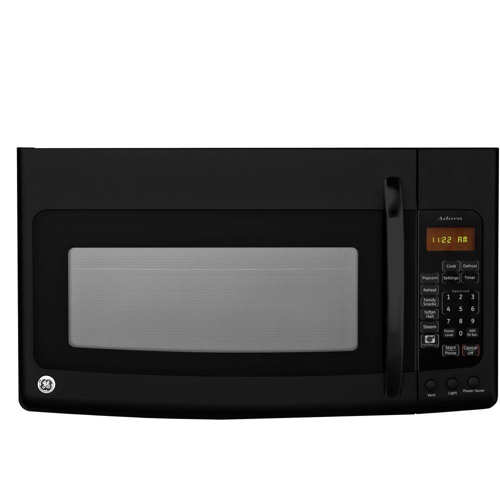 GE Adora Spacemaker 1.9 cu. ft. Over-the-Range Microwave in Black-DISCONTINUED