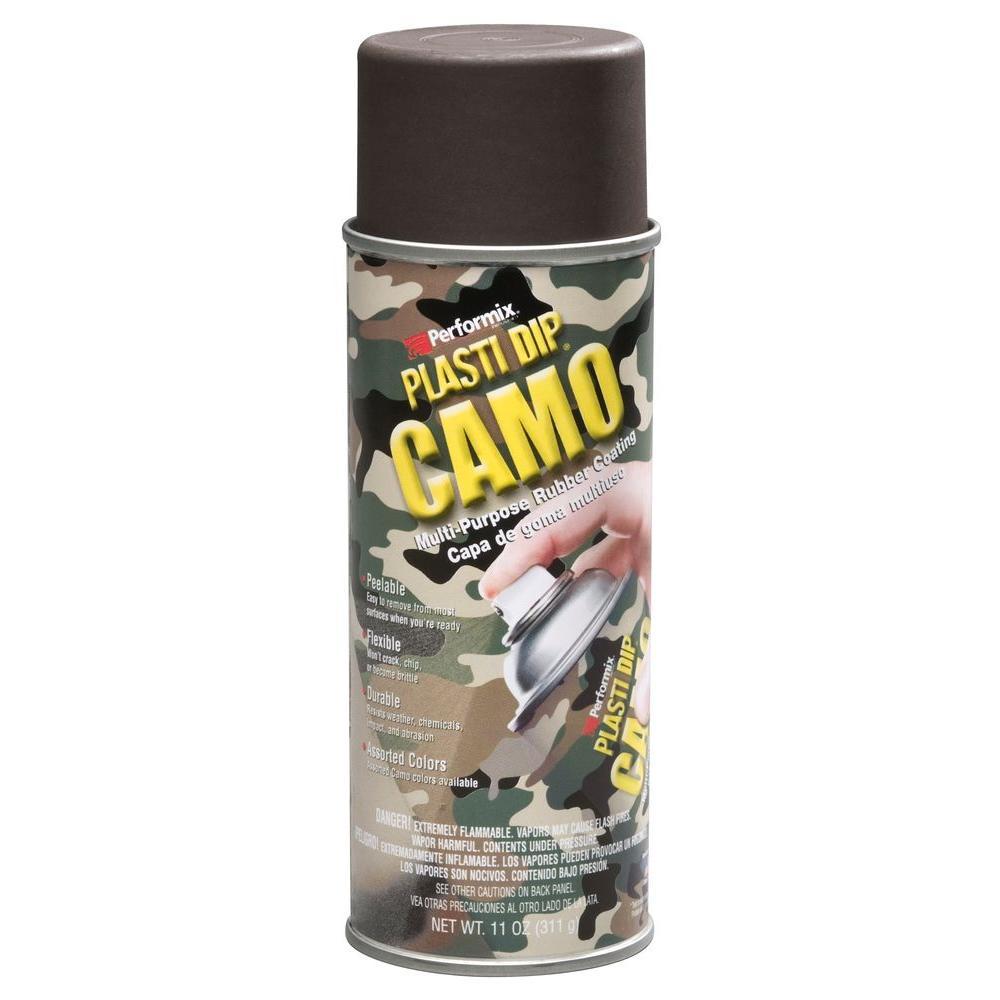 11 oz. Camo Brown Plasti Dip