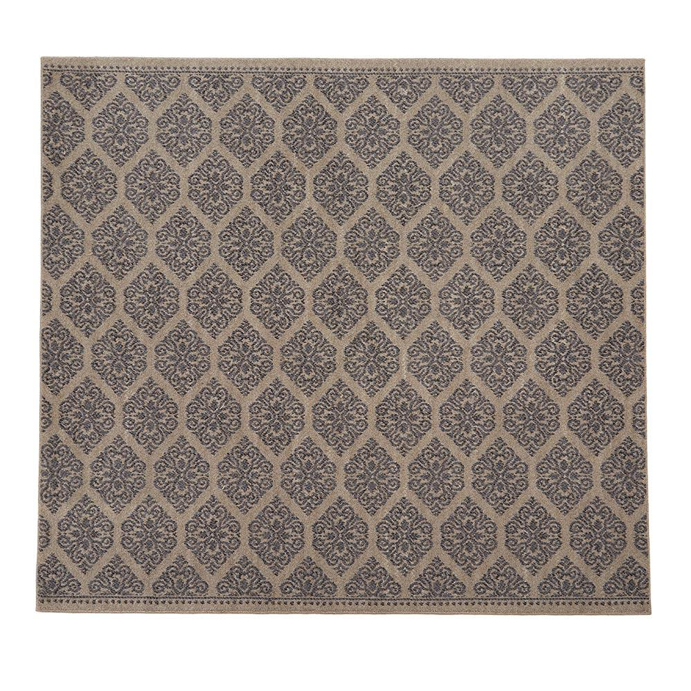 Blythe Grey 8 Ft X 8 Ft Square Area Rug Rzbd16a 808s