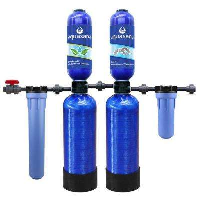 Rhino Series 5-Stage 300,000 Gal. Whole House Water Filtration System with Salt-Free Water Softener and 20 in Pre-Filter