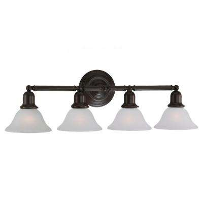 Sussex 4-Light Heirloom Bronze Vanity Light