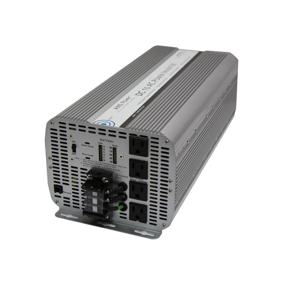Power Bright ML3500-24 3500 Watt 24 Volt DC To 110 Volt AC Power Inverter