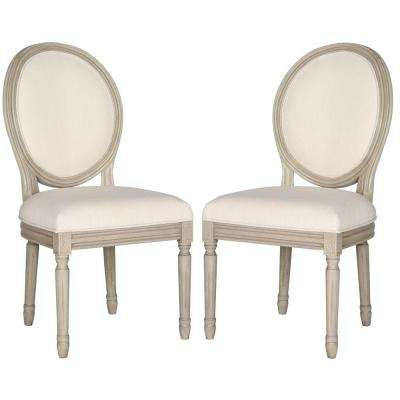 Holloway Light Beige Linen Dining Chair