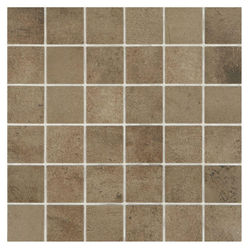 Studio Life Broadway 12 in  x 12 in  x 6 mm. Ceramic   Mosaic Tile   Tile   The Home Depot