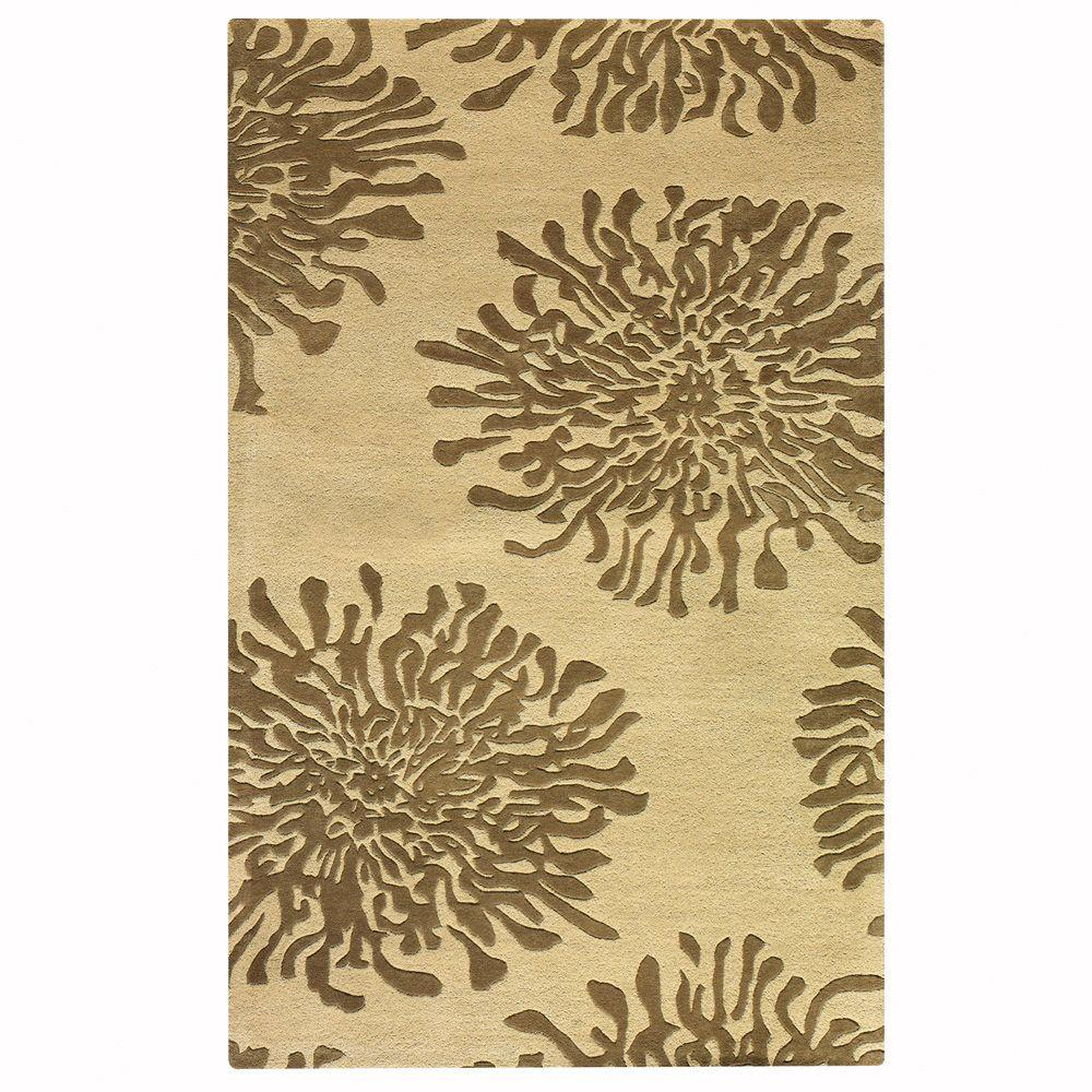 Home Decorators Collection Brunswick Beige 5 ft. 3 in. x 8 ft. 3 in. Area Rug