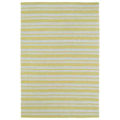 Lily and Liam Yellow 4 ft. x 6 ft. Area Rug