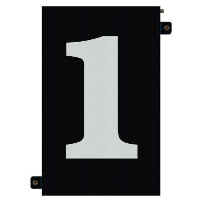 5 in. Modular LED Illuminated House Number 1